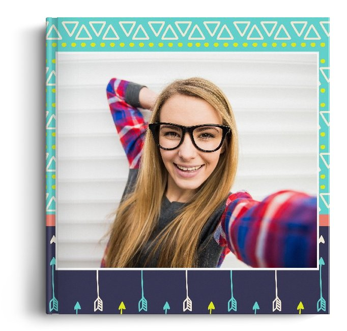 Fotocarte Vibrant - Standard, coperta moale - Panoramic mic (21x14 cm)
