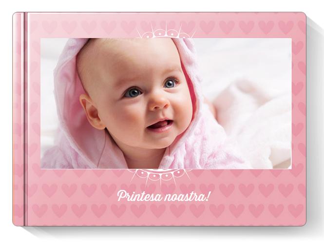 Album Foto Fotocarte Primul An Fetita Format Panoramic