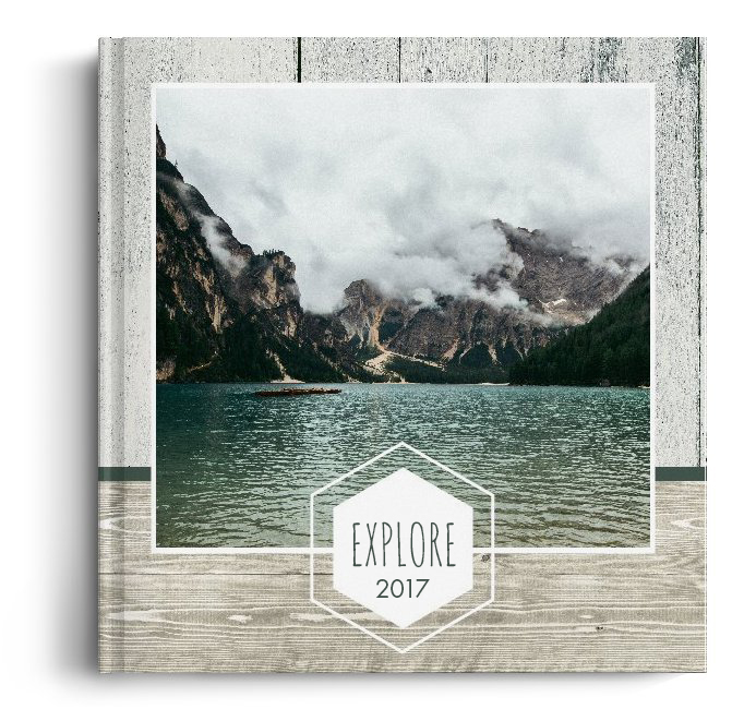 Fotocarte Explore - Standard, coperta moale - Panoramic mic (21x14 cm)