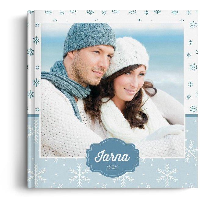 Fotocarte Iarna - Standard, coperta moale - Patrat mediu (20x20 cm)